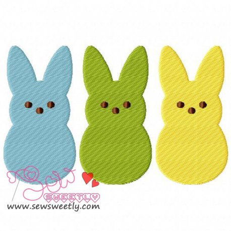Peeps Embroidery Design For Easter And Kids
