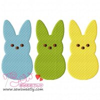 Peeps Embroidery Design
