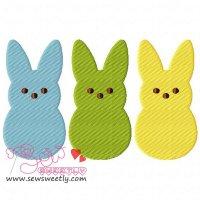 Peeps Embroidery Design