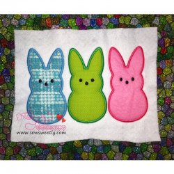 Peeps Applique Design