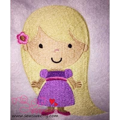 Classic Princess-8 Embroidery Design