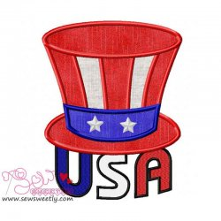 USA Applique Design