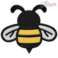 Honey Bee-1 Embroidery Design