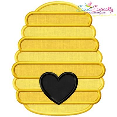 Bee Hive Applique Design