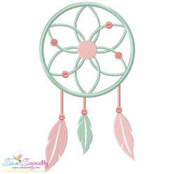 Boho Dream Catcher Embroidery Design Pattern- Category- Other Designs- 1