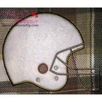 Football Helmet Applique Design