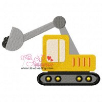 Construction Truck-9 Embroidery Design