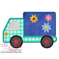 Delivery Truck Applique Design