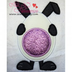 Bunny Monogram Applique Design
