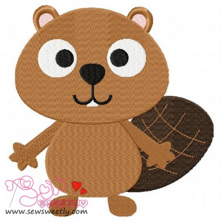 Forest Friend 2 Animal Machine Embroidery Design For Kids