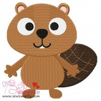 Forest Friend 2 Embroidery Design
