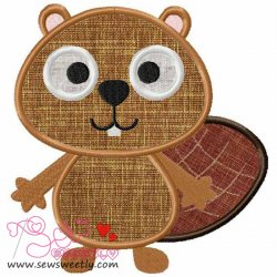 Forest Friend 2 Applique Design