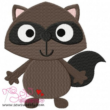 Forest Friend 1 Animal Machine Embroidery Design For Kids