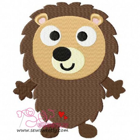 Forest Friend 11 Animal Machine Embroidery Design For Kids