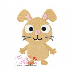 Forest Friend-Bunny Embroidery Design