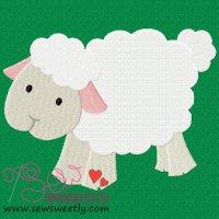 Farm Friend-Sheep Embroidery Design