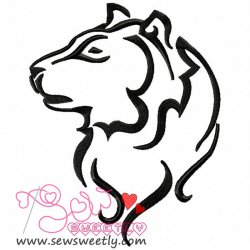Wild Animal-2 Embroidery Design