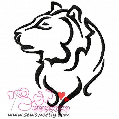 Wild Animal-2 Machine Embroidery Design For Kids