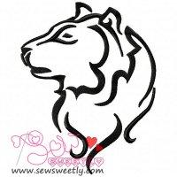 Wild Animal-2 Embroidery Design