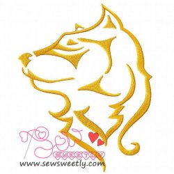 Wild Animal Embroidery Design