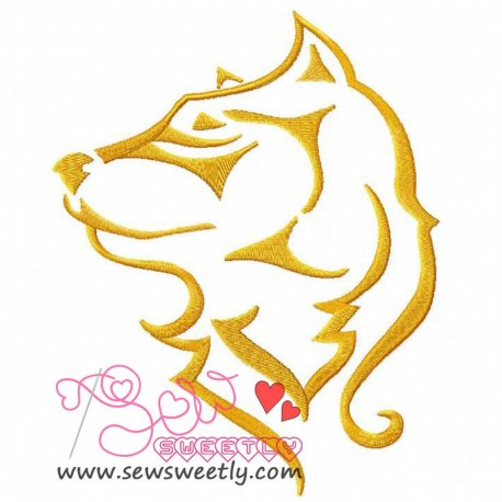 Wild Animal Machine Embroidery Design For Kids