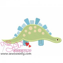 Big Dino-8 Applique Design