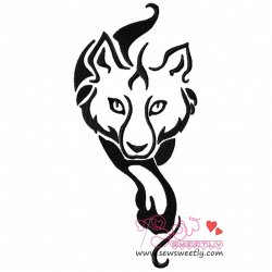 Wild Wolf-3 Embroidery Design