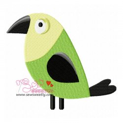 Feathered Friends-3 Embroidery Design