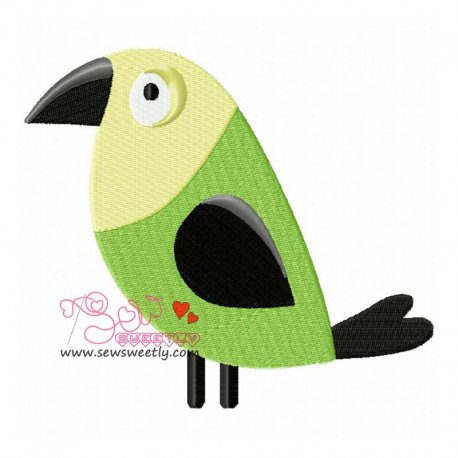 Feathered Friends-3 Embroidery Design For Kids