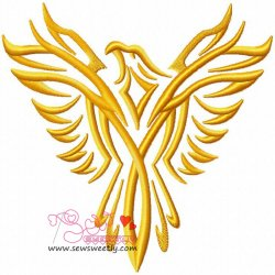 Phoenix-1 Embroidery Design