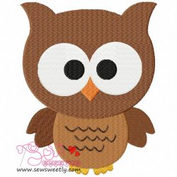 Forest Friends Owl Embroidery Design