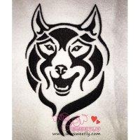 Wild Wolf-1 Embroidery Design