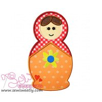 Doll-1 Applique Design
