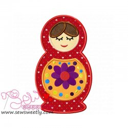 Doll-2 Applique Design