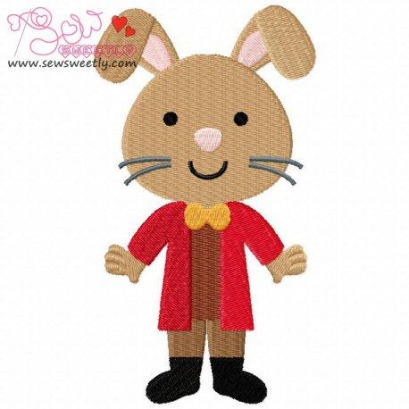 Wonderland Friends-4 Machine Embroidery Design For Kids