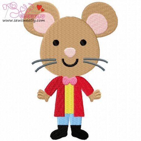 Wonderland Friends-5 Machine Embroidery Design For Kids