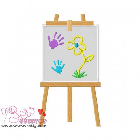Little Artist-3 Machine Applique Design For Kids And Babies