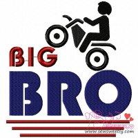 Big Bro Embroidery Design