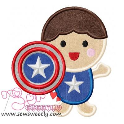 Superhero Baby Boy-2 Applique Design