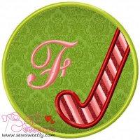 Christmas Font Letter-F