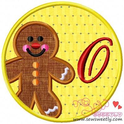 Christmas Font Letter-O