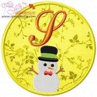 Christmas Font Letter-S