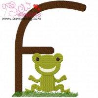 Animal Letter-F- Frog