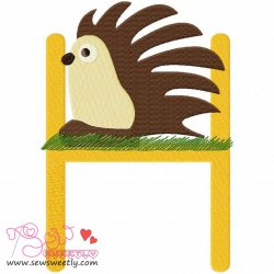 Animal Letter-H- Hedgehog