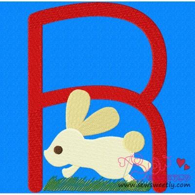 Animal Letter-R- Rabbit