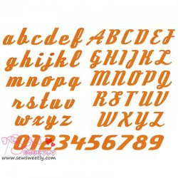 Deftone Stylus Embroidery Font Set