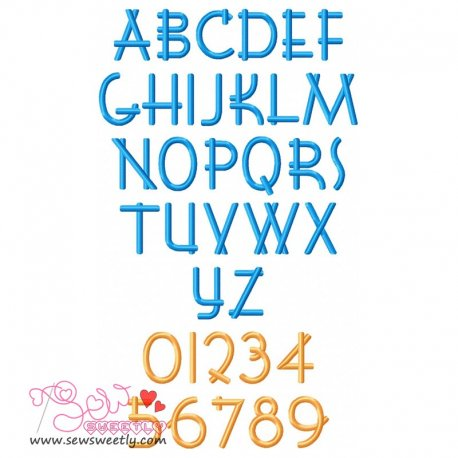 Font Shui Embroidery Font Set Pattern- Category- Embroidery Fonts- 1