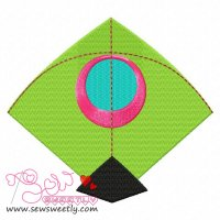 Indian Kite Embroidery Design