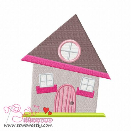 Neighborhood-2 Machine Embroidery Design For Kids