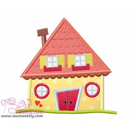 Neighborhood-1 Machine Embroidery Design For Kids